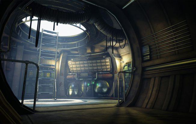 Jonathan hemmens scifi corridor